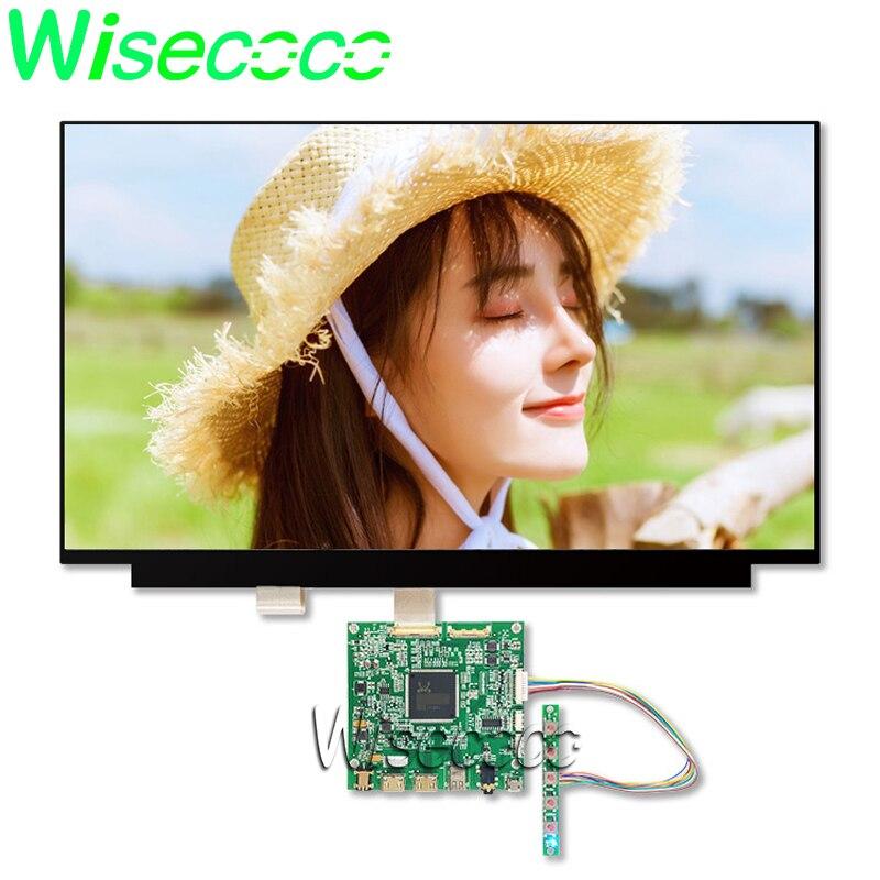 Slim Laptop LCD 15,6 pulgadas 4K IPS LCD pantalla LED UHD 3840X2160 panel de pantalla NV156QUM-N32 HDMI DP la Junta de Control de edp 30pin