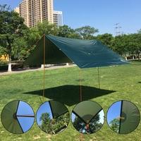 Gear Silver Coating Anti UV Ultralight Sun Shelter Beach Tent Pergola Awning Canopy 210T Taffeta Tarp Camping Sunshelter Top Sal