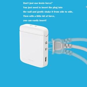 Image 3 - Tomada de parede wifi multi função casa inteligente tomada wifi casa placa de fiação usb inteligente desktop tomada de escalada de parede multi plug strip