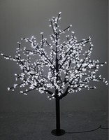 1.5m/5ft Height Outdoor waterproof Artificial Christmas Tree LED Cherry Blossom Tree Light 480pcs LEDs Straight Tree Trunk