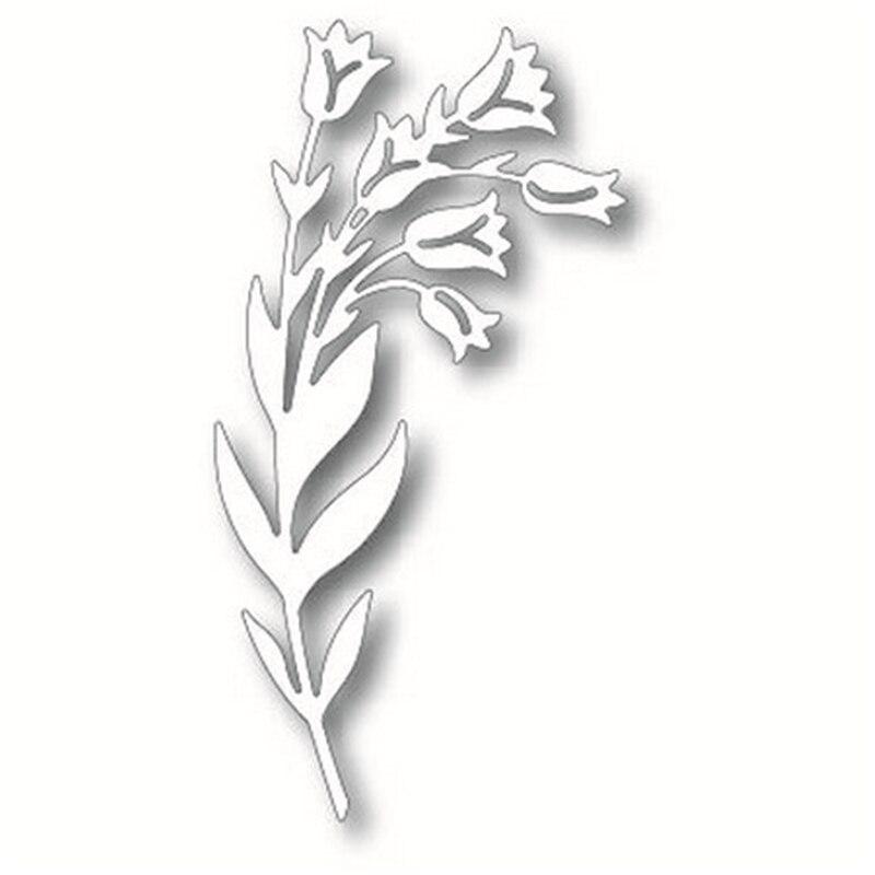 Eastshape Tulips Flower Metal Cutting Dies For Scrapbooking Dies Bouquet Stencil For Paper Card DIY Craft Photo Album Decoration in Cutting Dies from Home Garden
