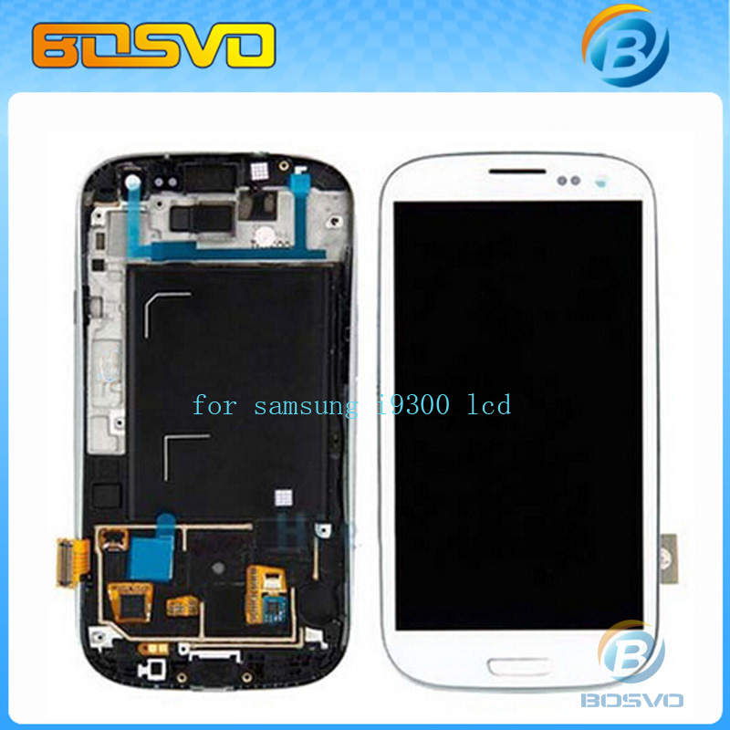 ФОТО High quality Replacement For Samsung for Galaxy s3 i9300 lcd display with touch screen digitizer frame aseembly+free tools