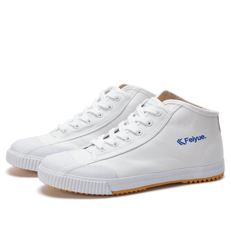 Feiyue shoes New white Delta Mid Felo Top Sneaker Martial Arts KungFu  Classic Canvas shoes-in Skateboarding from Sports   Entertainment on  Aliexpress.com ... cff07d462f1b