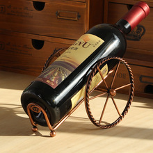 Wine Racks Handmade Plating Process Support Home Kitchen Bar Accessories Nice Practical Wine Holder Metal Craft свитшот print bar summer nice