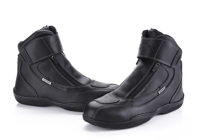 Men s Casual Leather Waterproof Motorcycles Riding Shoes Racing Shoes arcx Motorcycle Protection Shoes Motorcycle Equipment