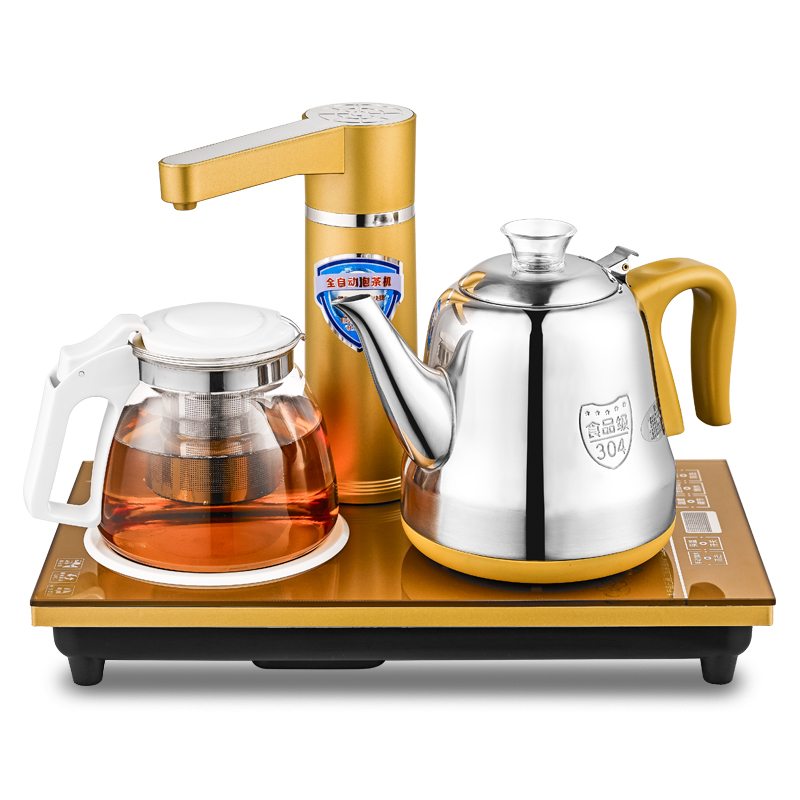 Fully automatic upper water The electric kettle is used to make a 304 stainless steel teapot electric kettle is used to boil water 304 stainless steel