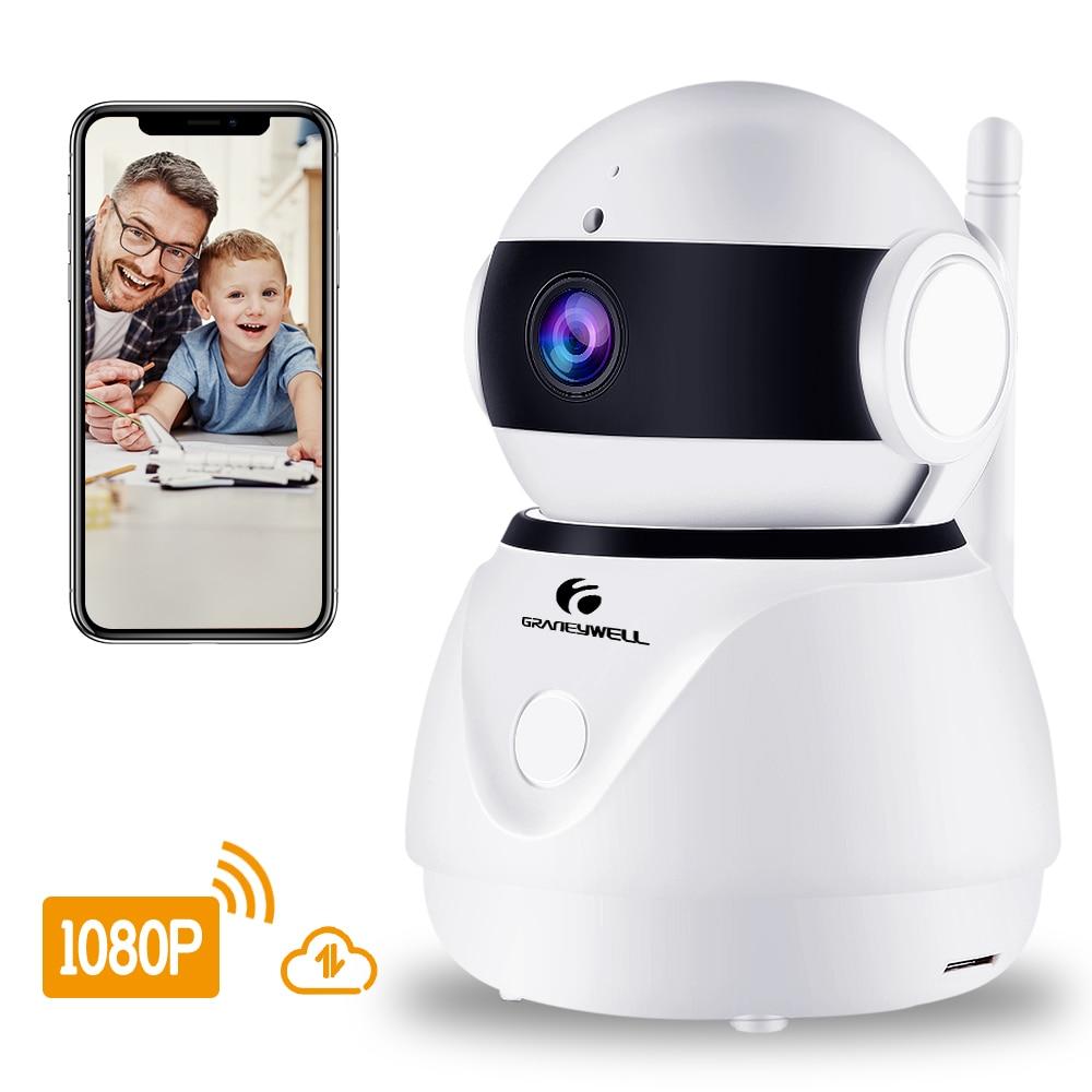 Беспроводной IP Камера 1080 P HD 2MP Wi-Fi Камера Видеоняни и радионяни Объективы для видеонаблюдения Smart Ночное видение видео наблюдения домашней б...