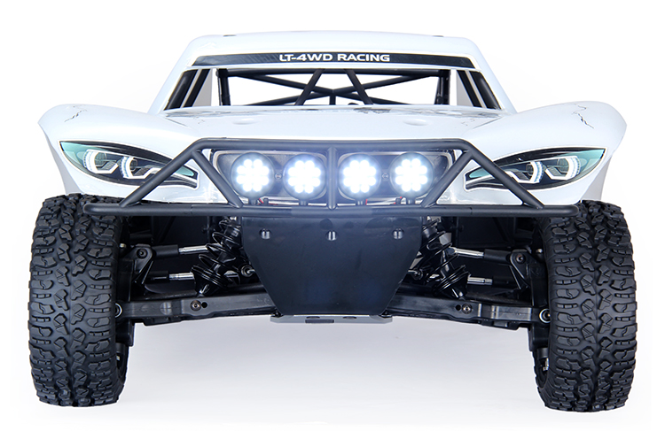 General LED Head Lights Headlamps Receiver-line Set Fit Hpi Rovan Baja LOSI 5ive-T parts 1/5 RC Car Gas rovan cnc metal rear suspension arm set fit hpi baja losi 5ive t parts