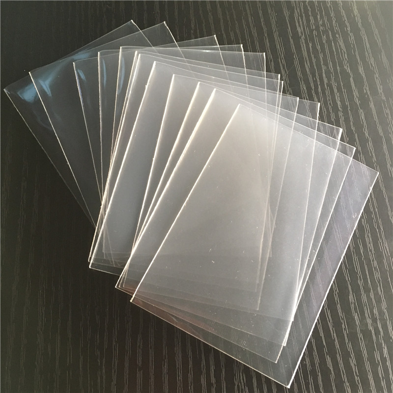 300PCS/lot 4 Size Transparent Card Protector For Board Games Cards Gathering Card Sleeves
