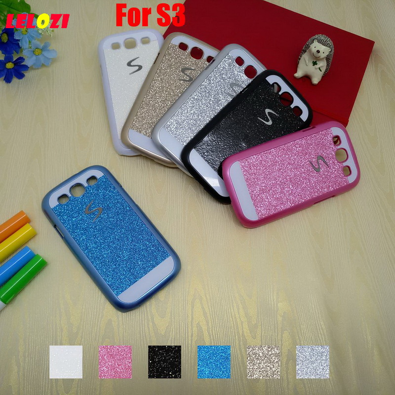 LELOZI Bling Shinning Glitter Hard PC Women Capinha Etui Case Cover Shell For Samsung Ga ...