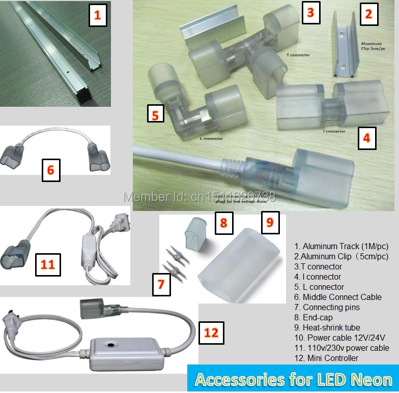 accessories Neon