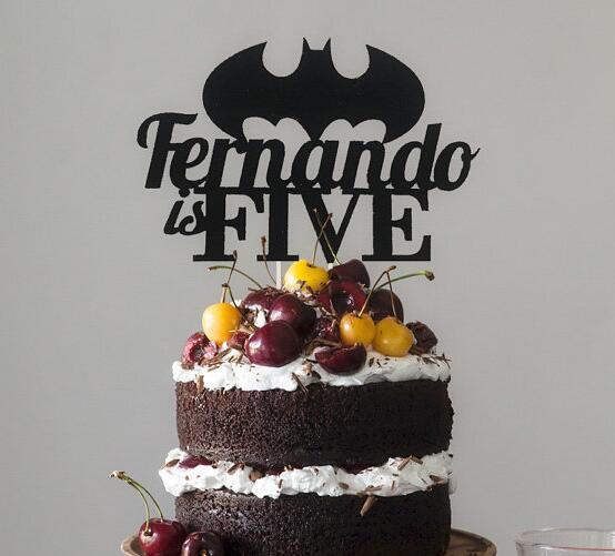 Detail Feedback Questions About Personalised Batman Superhero The Justice League Birthday Acrylic Cake Topper Baptism Toppers Baby Shower Party