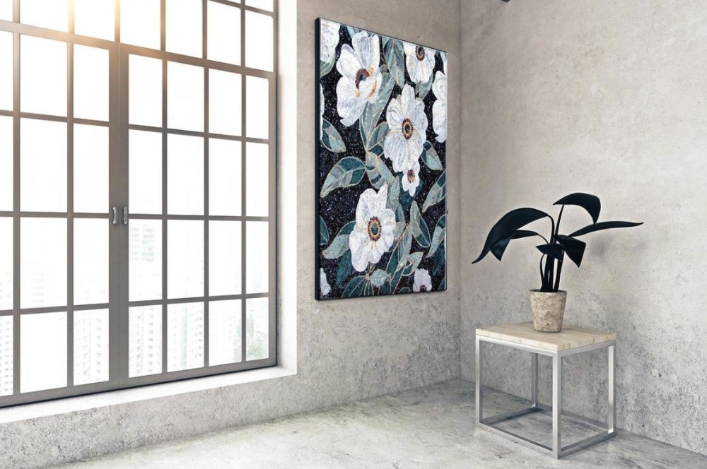 mosaic designs ,Black and white are classic everlasting elegant colors that never go out of style