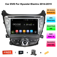 2 DIN Android 5.1.1 quad-core Аудиомагнитолы автомобильные GPS навигатор Авторадио моторизованный Съемная Automotivo dvd-плеер автомобиля для Elantra 2014