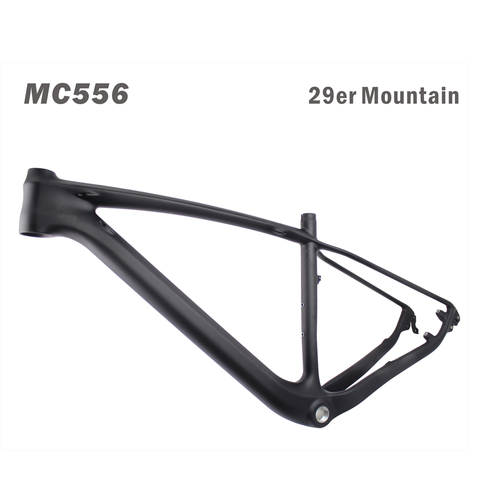 super light 29er 27 5er fat tire mountain bike new carbon frame through axle mtb frame Warranty 2 years T700 Full Carbon mountain Bike frame 29er,rear thru axle 142*12mm carbon MTB Bicycle Frame 29er