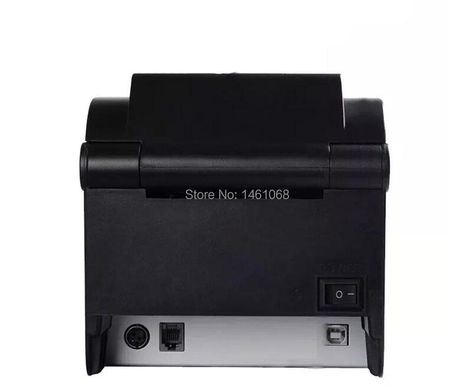 XP-350B JEPOD 20mm ~ 80mm Direct Termal USB штрих-код - Кеңсе электроника - фото 4