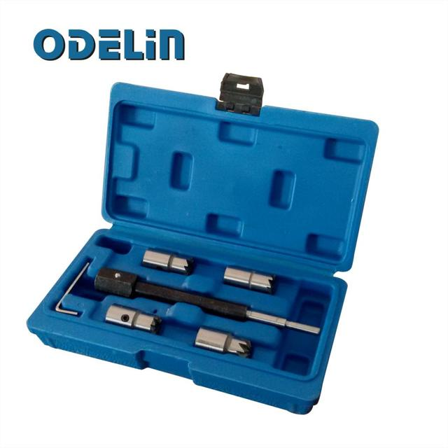 5pc Diesel Injector sealing / seat cutter set for CDi engines tool kit