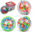 3D Maze Ball 100 Closed Level Intellect Ball Children's Educational Toys Orbit Game Intelligence Christmas New year Gift