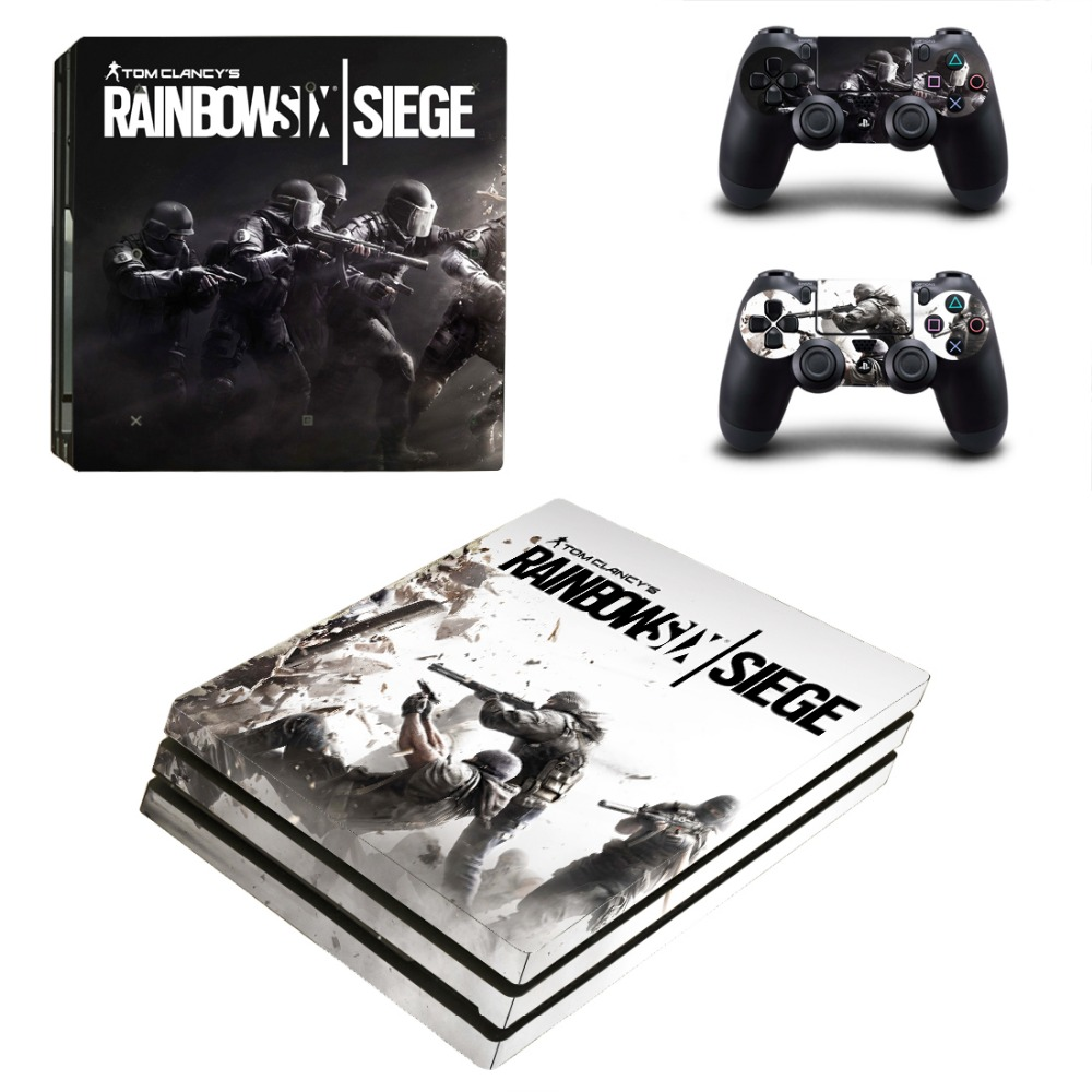 TomClancy Skin PS4 Pro Sticker Vinyl Design for Sony Playstation 4 Pro Console and Controller