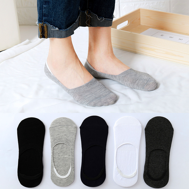 6Pieces= 3Pairs Women Socks Candy Solid Sweet Color Pattern Boat Sock Slippers Summer Breathable Cool Casual Girls Funny Fashion