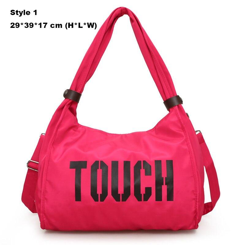 3c11a42195 Dropwow Sport Bag Women Training Gym Fitness Travel Bags Durable ...