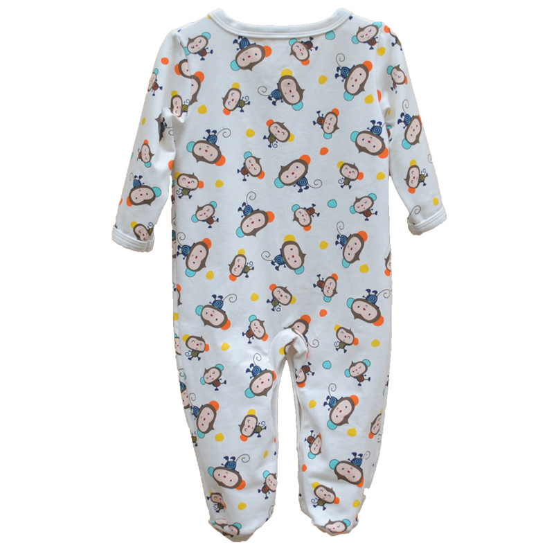 Brand Newborn Baby Clothes Cute Cartoon Baby Costume Girl Boy Jumpsuit Clothing Spring Autumn Cotton Romper Body Baby Clothes 8