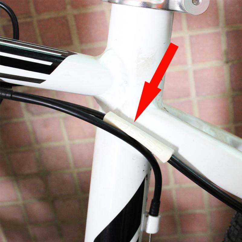 Bike Brake Wire Protective Sleeve Rubber Pipe Shift Brake Line Cable Protector