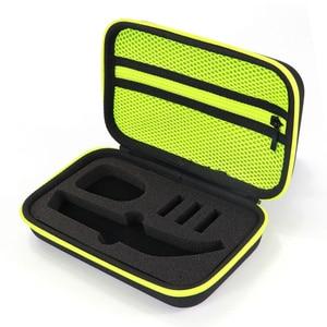 Image 3 - Draagbare Case voor Philips OneBlade Pro Trimmer Scheerapparaat Accessoires EVA Reistas Opslag Pack Box Cover Zipper Pouch met Voering