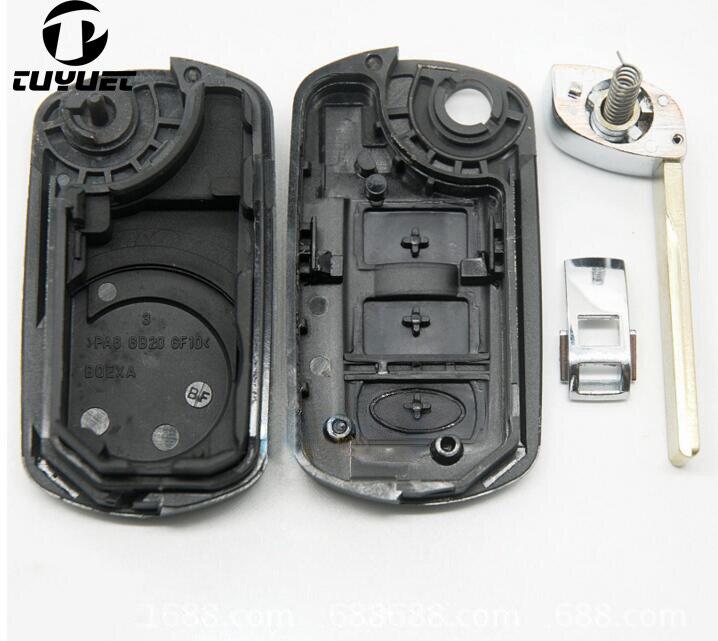 3 κουμπιά Αντικατάσταση κλειδιού - Ανταλλακτικά αυτοκινήτων - Φωτογραφία 6