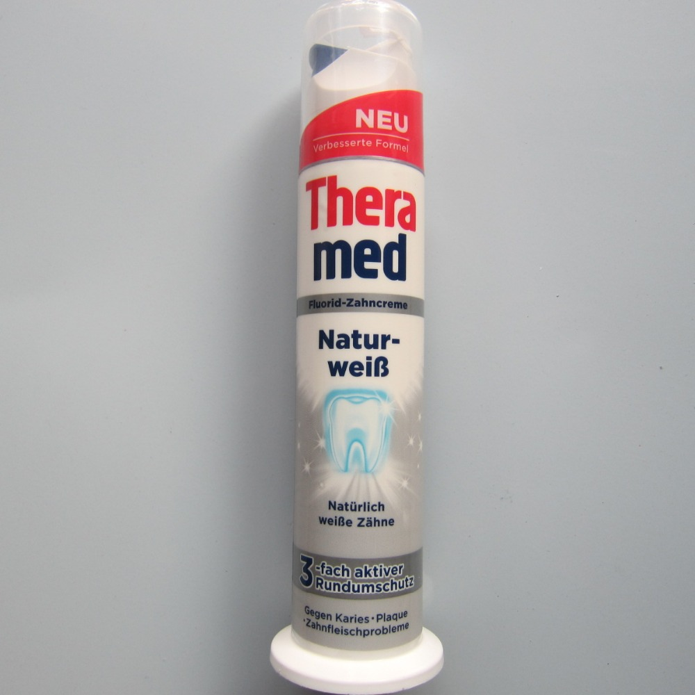 Germany Theramed Henkel standing Toothpaste adults Mint flavor font b white b font font b teeth