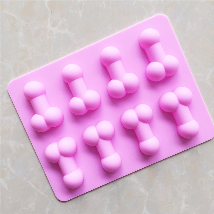 Silicone Cake Mould Penis Fun Funny Adult Birthday Mousse Cake Baking Mold Cake Tools Pizza Cookie Cutters