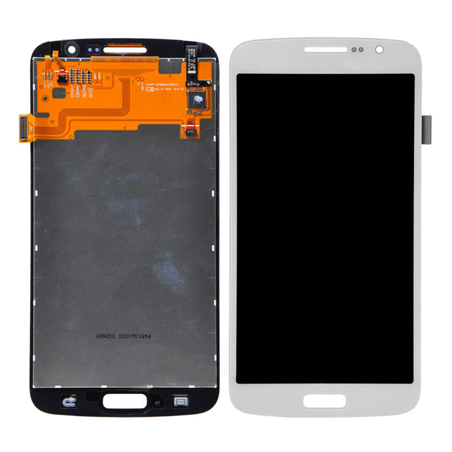 White Touch Screen Digitizer + LCD Display Assembly Replacement FOR Samsung Galaxy Grand 2 G7102 G7105 G7106 G7108 Free shipping