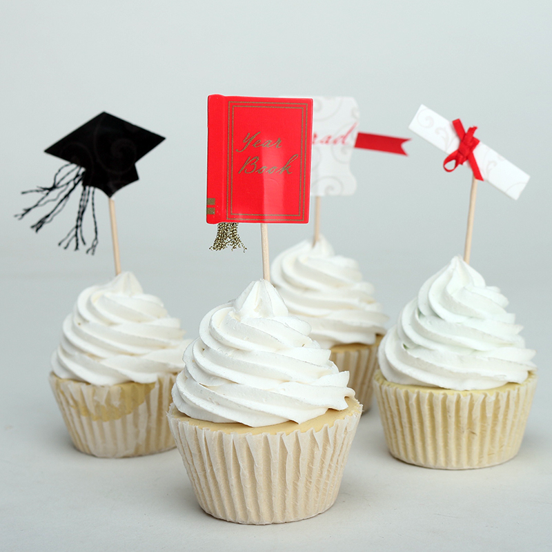 Popular Graduation Cupcake Toppers-Buy Cheap Graduation ...