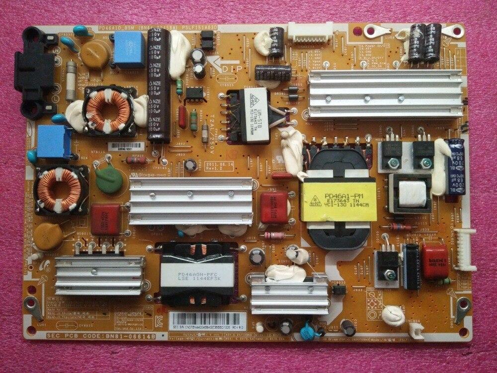 Power Supply Board for Samsung UA46D6000SJ board BN44 00458A PSLF151A03D PD46A1 PM PD46A1D BSM Original used
