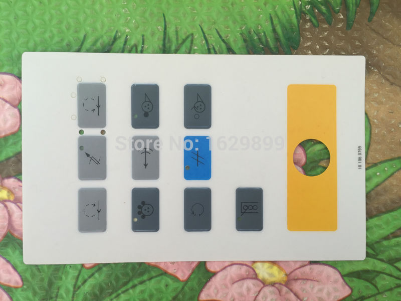 цена на 1 piece free shipping keyboard heidelberg panel 10.106.0799