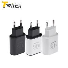 Varios puertos de la ue usb cargador de pared adaptador de dispositivo de teléfono móvil 5 v 2a cargador rápido inteligente para iphone ipad samsung cargador