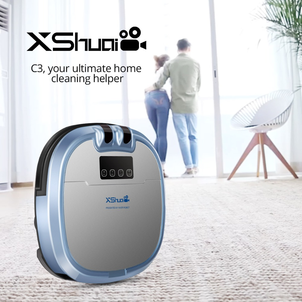 Haier Xshuai Hxs C3 Smart Vacuum Cleaner Robot Built In