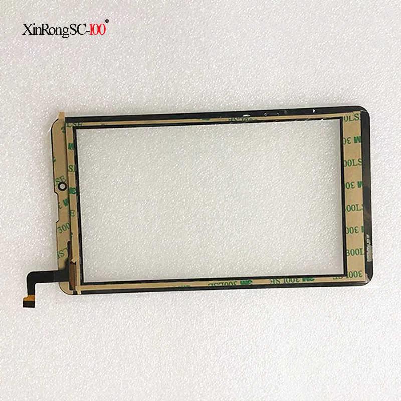 """Hartowane szkło ochronne Film + 7 """"cal Prestigio MultiPad Wize 3407 4G PMT 3407 4G ekran dotykowy panel szkło digitizer czujnik"""
