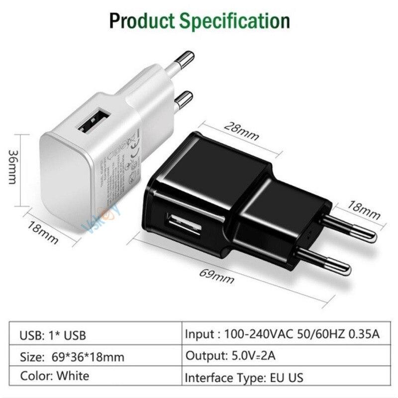 VSKEY 2A USB зарядтағыш Xiaomi Note 3 Mi 8 SE 5s Plus 5X 6X - Мобильді телефондарға арналған аксессуарлар мен бөлшектер - фото 3