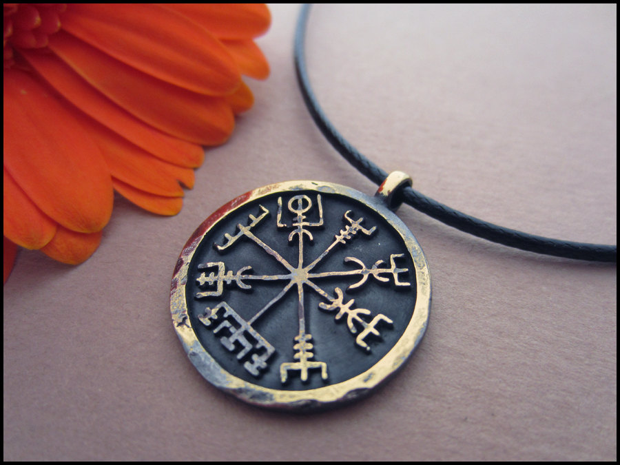 10pcs handmade helm of awe pendant amulet viking norse vegvisir 10pcs handmade helm of awe pendant amulet viking norse vegvisir compass pendant necklace in pendant necklaces from jewelry accessories on aliexpress aloadofball Images