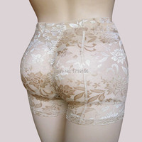 Women Fake Butt Pads Panties Push Up Hip Enhancer Seamless Sexy Buttock Lace Butt Lift Body