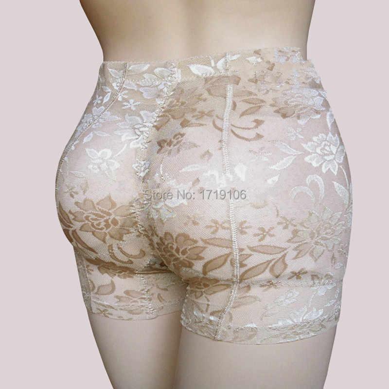 474d9e895d1 Women Fake Butt Pads Panties Push Up Hip Enhancer Seamless Sexy Buttock  Lace Butt Lift Body