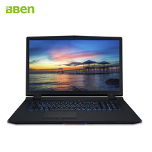 Bben gaming notebok laptop DDR4 32GB,M.2 256GB SSD,HDD 1TB QUAD CORES cpu intel i7-6700k processor 17.3inch type-c backlit
