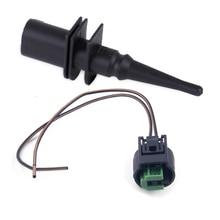 Sensor de temperatura do ar ambiente preto adequado para bmw, série 1 6 7 e39 65816905133