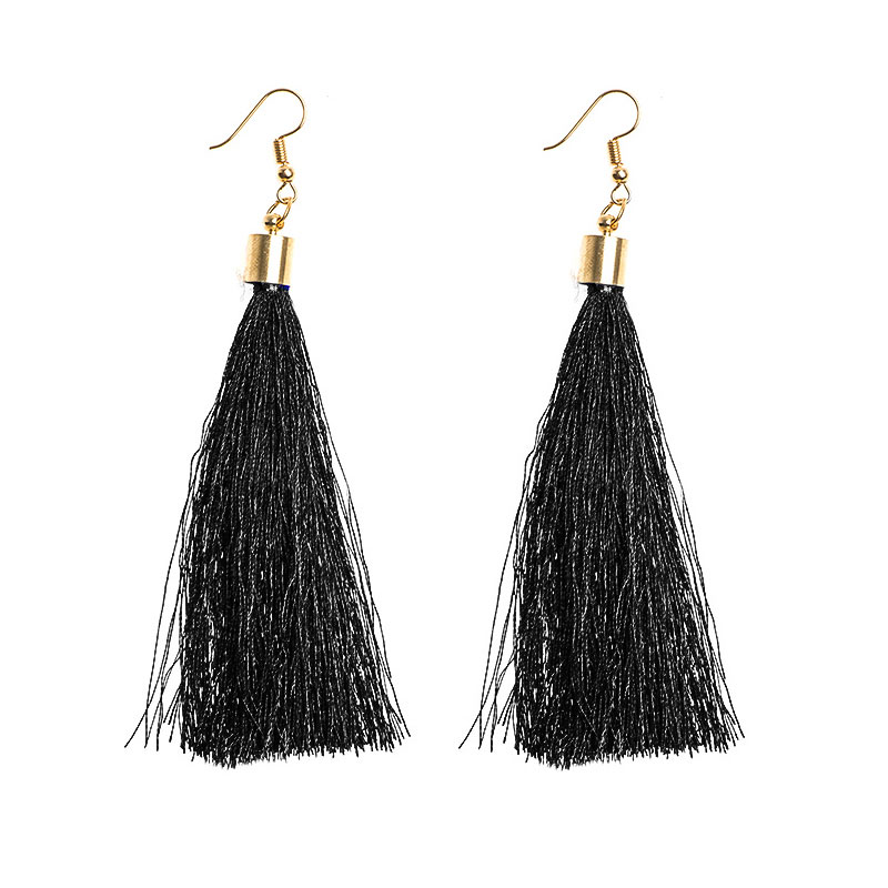 H:HYDE 1PAIR Tassel Earrings Long Drop Earrings for Women Wedding Party Jewelry Earring Accessories