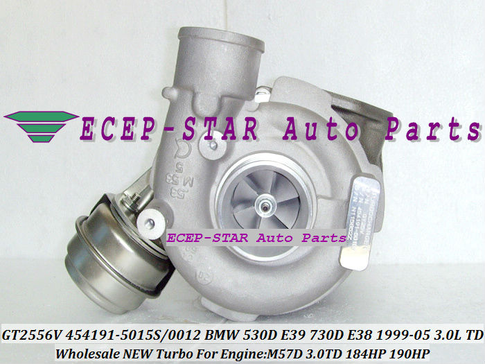 Promotion GT2556V 454191 454191-5015S 454191-5012S 454191-0001/3/4/5/6/7/8/10 Turbo For BMW 530D E39 730D E38 M57D M57 D30 3.0L image