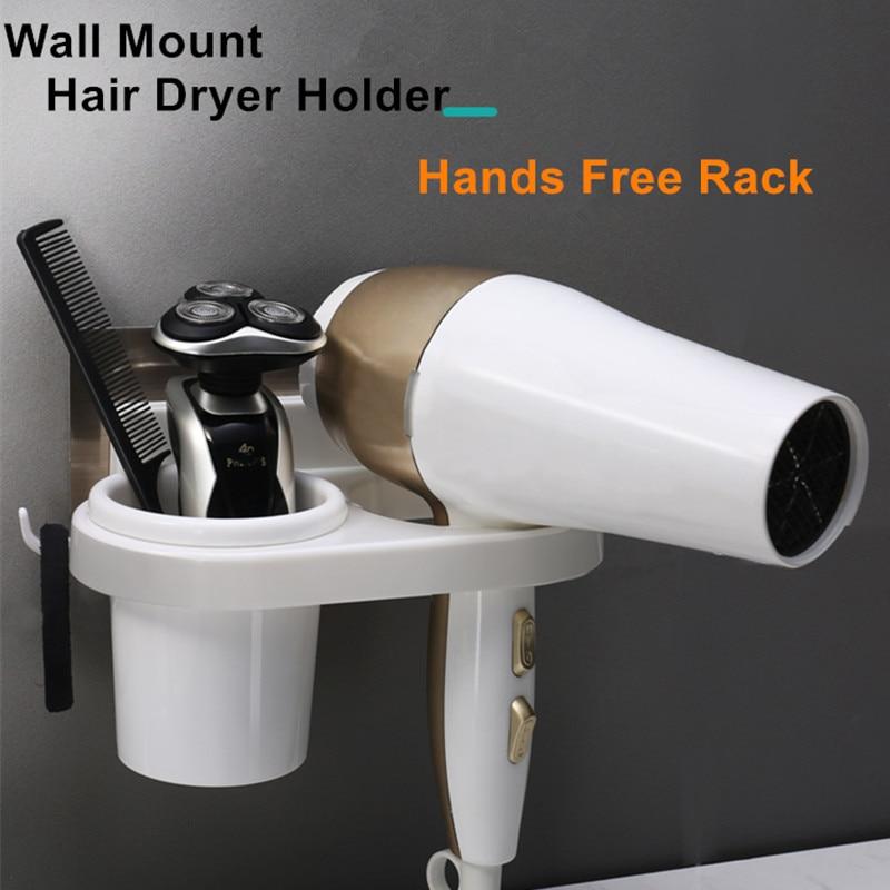 Hair Dryer Holder, Hair Styling Storage Rack Barber Salon Straighteners Organizer,Storage Holders & Racks For Hair Dryer Brush