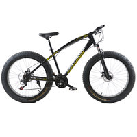 Fat Bike 7 21 24 27Speed Cross Country Snow Beach Bike 26 Inch 4 0 Super
