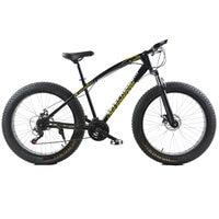 Fat Bike 7 21 24 27Speed Cross Country Snow Beach Bike 26 Inch 4 0 Super