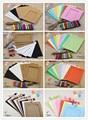Mixed 3 cores criativo kraft pendurado moldura de decoração para casa diy material 7 pcs/10 pcs 049007006